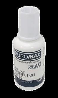 Корегуюча рідина з пензликом на спирт.основі,16 мл, JOBMAX  BM.1003
