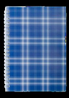 """Зошит на пружині збоку, А-5, 48л., """"Shotlandka"""", синій, клітинка, BM.2591"""