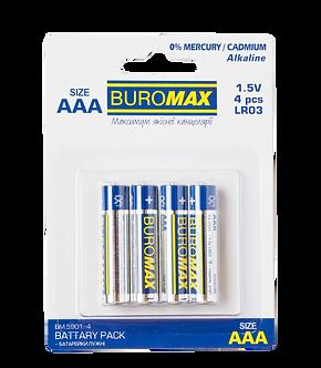 Елемент живлення (батарейка) LR03 (ААА) 4шт/упак  BM.5901-4