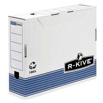 Бокс для архивації док. R-Kive Prima 100мм, синій     f.26501