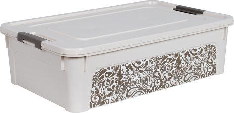 """Контейнер """"Smart Box"""" з декором Home 14л     al.123097"""