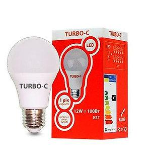 Лампа LED А60 12Вт Е27 4200К TURBO-C  534332