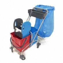 Візок на колесах для прибирання приміщень