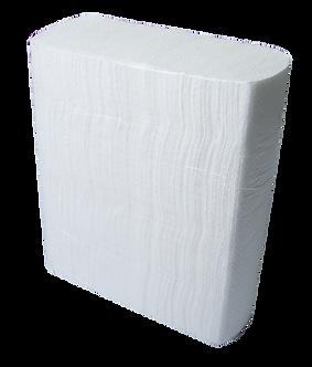 Рушники паперові целюлозні Z-подібні.,200шт., 2-х шарові, білий