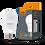 Thumbnail: Лампа LED, 15W, E27, 4100K або 3000К, 220V, VIDEX  VL-A65e-15274