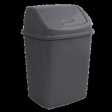 Контейнер для мусора с качающейся крышкой, 5 л, 18х14,5х27,5