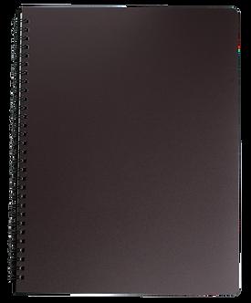 Книжка записн. на пруж. OFFICE А4, 96арк.,кл., пластик.обкл  BM.24451150