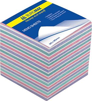 Блок паперу для нотаток ЗЕБРА 90х90х40мм., не склеєний