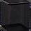 Thumbnail: Підставка для ручок квадратна BUROMAX, металева, колір асорті BM6201