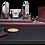 Thumbnail: Набір настільний з натур. дерева і мармуру, 9 предметів, чер.дерево, горых 9277