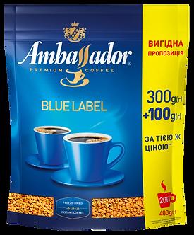 Кава розчинна Ambassador Blue Label, пакет 400г  аm.52503