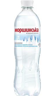"Вода мінеральна негазована, 0,75л, ""Моршинська""   М2777"