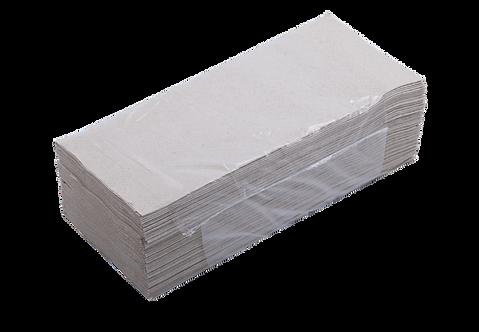 Рушники паперові макулатурні V-подібні, 160 шт, сірі