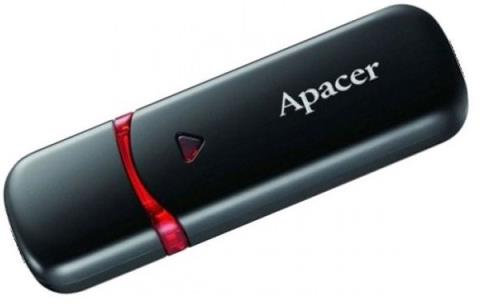 Флеш-пам'ять USB Apacer AH333 16GB Black  6315953
