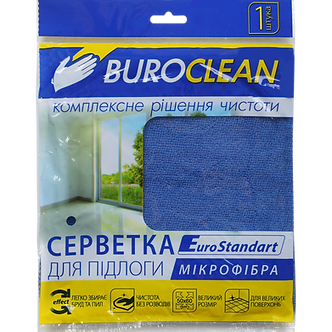 Серветка для підлоги, мікрофібра, BuroClean EuroStandart 50х60 см 10200154