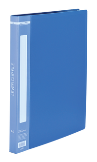 Папка пластикова A4 з боковим притиском та кишенею BM.3402