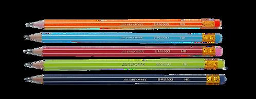 Олівець графітовий GRAPHITE НВ, асорті BM.8503