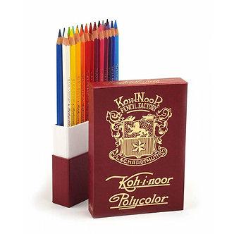 Олівці художні POLYCOLOR RETRO, набір 24 кол. 3824024020tk