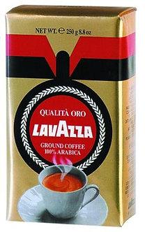 """Кава мелена Qualita Oro, 250г , """"Lavazza"""", пакет   prpl.12911"""