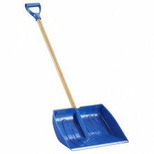 Лопата для прибирання снігу 415х360х90 мм