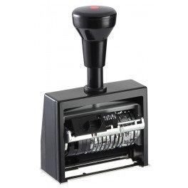 Датер-Нумератор автоматичний, високояк. пластик, 6-ти розрядний ND6К/6