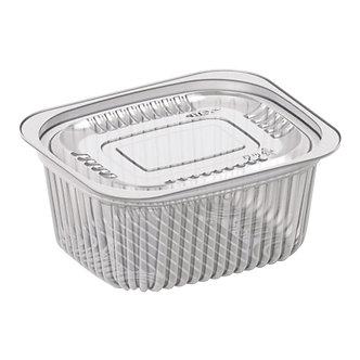 Контейнер разовий для харчових продуктів, полімерний, 229х129 мм, 450шт
