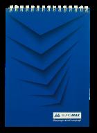 Блокнот на пружині зверху MONOCHROME, А5, 48 аркушів BM.2474