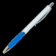 Ручка кулькова під нанесення автомат., 0,7 мм, колір асорті, синя BM.8232