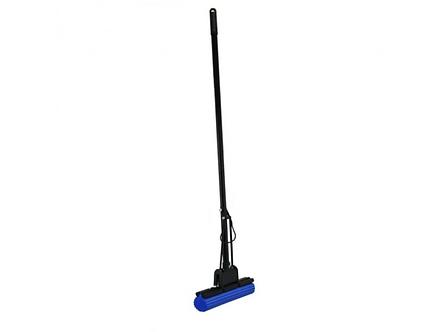 Швабра для прибирання з віджимом 27см, довжина ручки 112мм