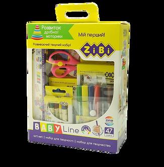 Набір для дитячої творчості в картоній коробці, BABY Line  ZB.9950