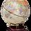 Thumbnail: Глобус настільний , горіх, тем.вишня 0909