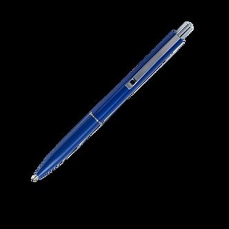 Ручка кулькова автоматична, 0,7 мм, корпус асорті, пише синім BM.8239
