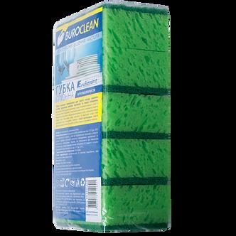 Губки кухонні крупнопористі, 5шт, BuroClean EuroStandart 10200220