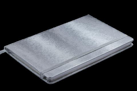 Блокнот діловий INGOT 125x195мм, 80арк., кліт, обкл. зі шт. шк. BM.29912103