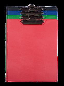 Кліпборд-папка BUROMAX, А5, PVC, асорті BM.3417
