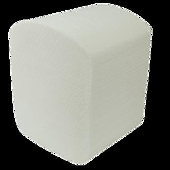 Папір туалетний листова целюлоза., 2-х сл., 200х105мм, 150шт. білий