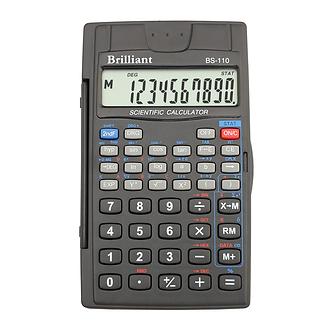 Калькулятор інженерний Brilliant BS-110, 8 + 2 розрядів, 56 функцій
