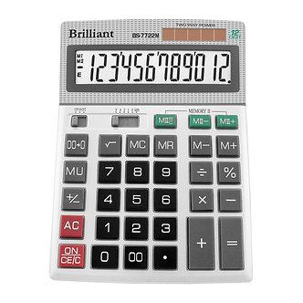 Калькулятор Brilliant BS-7722M, 12 розрядів