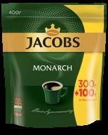 Кава розчинна Jacobs Monarch, 400г , пакет