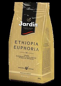 """Кава мел. JARDIN """"Ethiopia Euphoria"""" сила смаку """"3"""" сер.обсмаж. 250г jr.109537"""