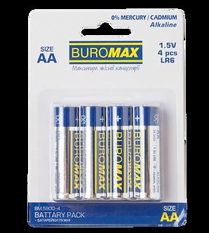 Елемент живлення (батарейка) LR6 (AA) 4шт/упак  BM.5900-4