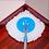 Thumbnail: Набір швабра і відро з механічним віджимом  10300110