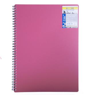Зошит для нотаток на пружині CLASSIC, А4, 80 аркушів, клітинка BM.2446