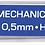 Thumbnail: Стрижні для механічного олівця HB 0.5-0,7мм, 12шт. BM.8699