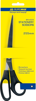 Ножиці офісні BUROMAX, 255 мм BM4505