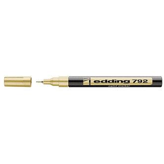 Маркер Edding Paint e-792 0,8 мм тонкий колір ассорті
