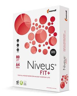 Папір NIVEUS FIT+, А4, клас B, 80г/м2, 500 арк