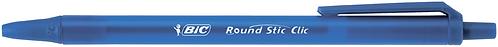 "Ручка ""ROUND STIC CLIC"", синій  bc926376"