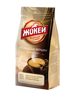 """Кава мелена Жокей """"Ірландські вершки"""" аромат 150гр  jk.108331"""