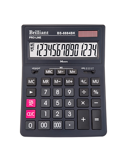 Калькулятор BS-8884BK 14р., 2-живл.  BS-8884BK